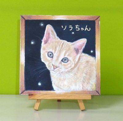 新チョークアート猫-2