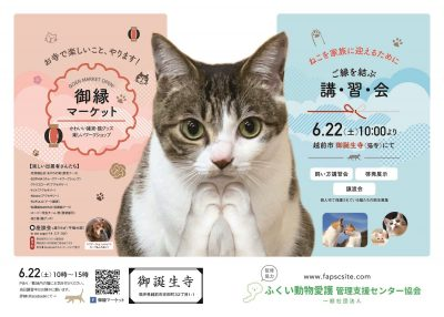 2019.5.13 御誕生寺さん譲渡会